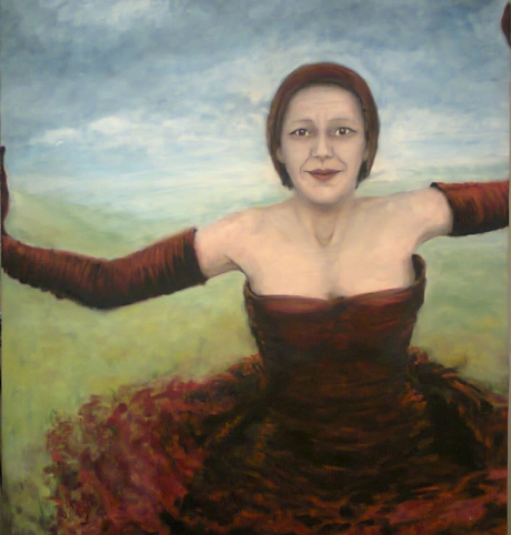 'Queen of the Night from the score of Mozart's Magic Flute'