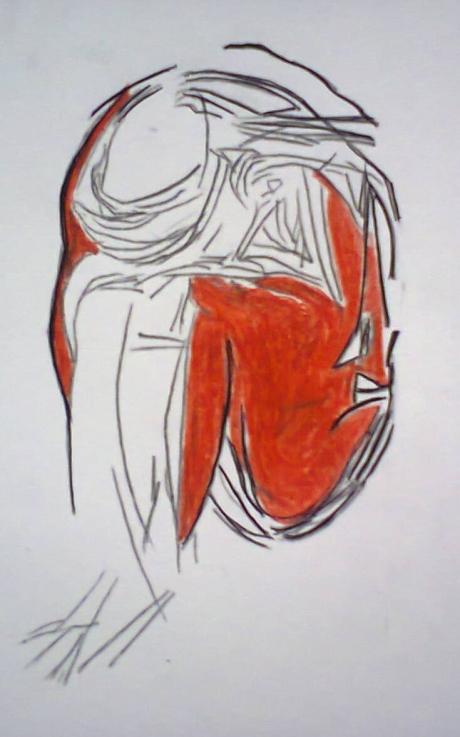 'Pencil print 2'