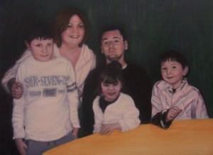 Gloria's painting